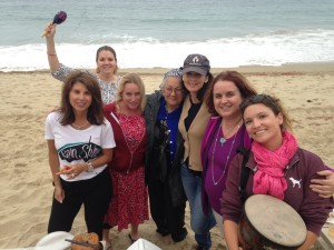 Join Ariel for Drumming Circles on the Beach!