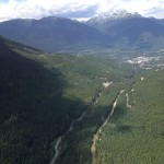The valley between Whistler and Blackcomb. Copyright 2015 Ariel F. Hubbard www.arielhubbard.com